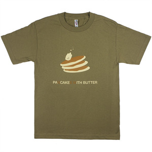 [E011] paNcakeS With butter (safari green)