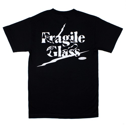 [G082] Glass, Fragile (black)