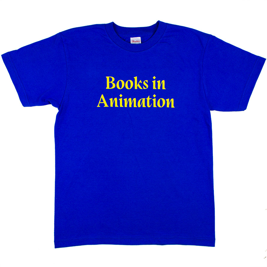 [G085] Books in Animation (royal blue)
